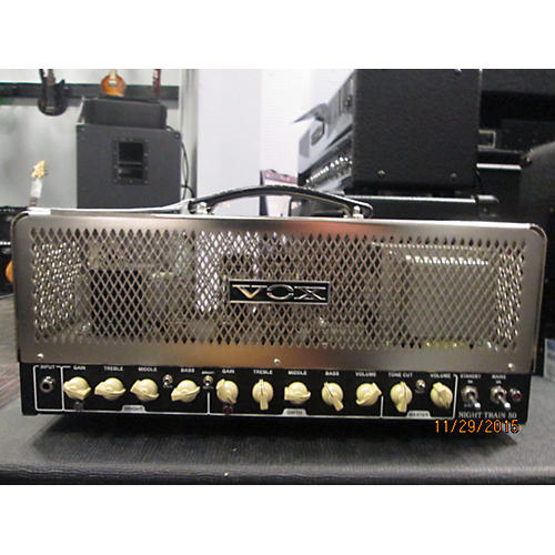 Vox NT50H Night Train 50W Tube Guitar Amp Head-thumbnail