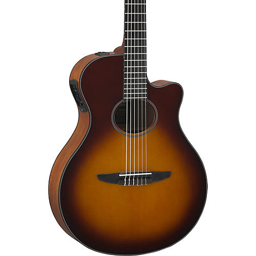 yamaha ntx500 acoustic electric guitar brown sunburst guitar center. Black Bedroom Furniture Sets. Home Design Ideas
