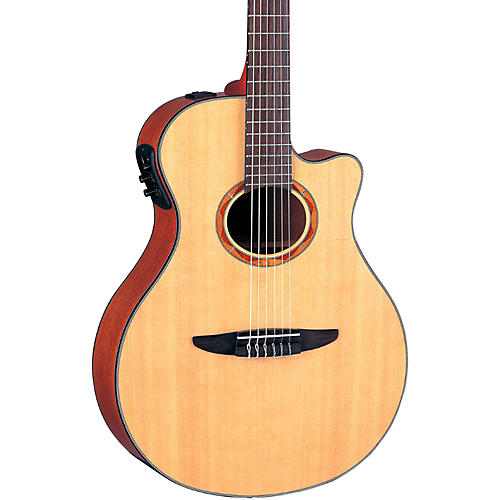 Yamaha NTX700 Acoustic-Electric Classical Guitar Natural-thumbnail