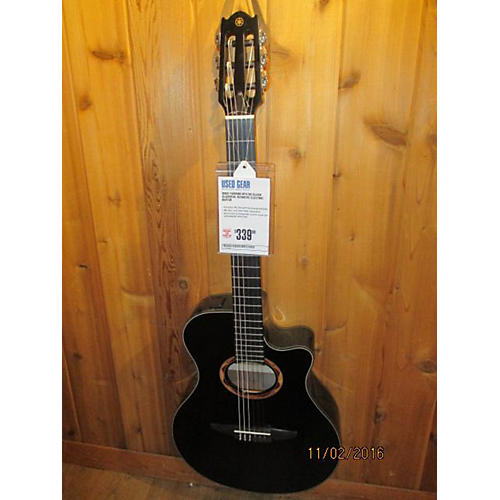 Yamaha NTX700 Classical Acoustic Electric Guitar Black