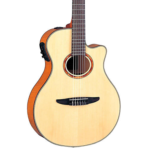 Yamaha NTX900FM Acoustic-Electric Classical Guitar Flamed Maple