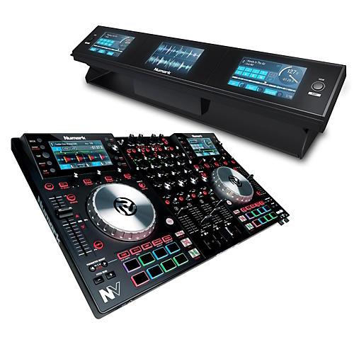 Numark NV DJ Controller with Dashboard 3-Screen Display