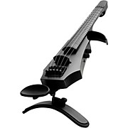 NS Design NXTa Active Series 5-String Fretted Electric Violin in Black
