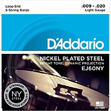 D'Addario NYXL Light Banjo Strings (9-20)