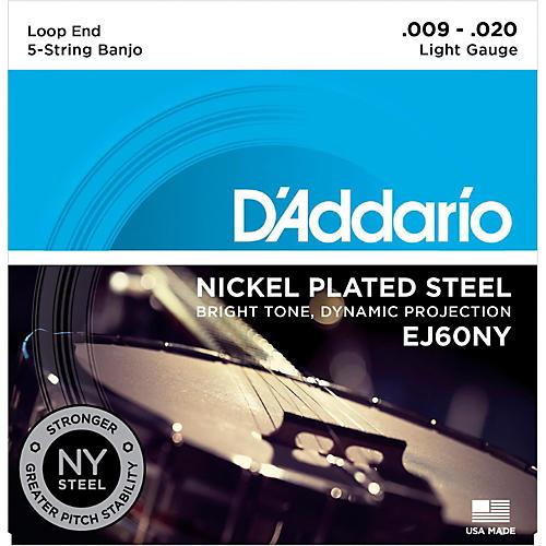 D'Addario NYXL Light Banjo Strings (9-20)-thumbnail