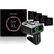 D'Addario NYXL1052 Electric Guitar Strings 5-Pack with FREE NS Micro Headstock Tuner