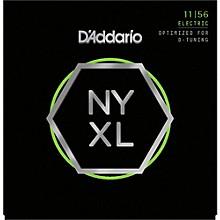 D'Addario NYXL1156 Medium Top/Extra Heavy Bottom Electric Guitar Strings