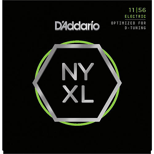 D'Addario NYXL1156 Medium Top/Extra Heavy Bottom Electric Guitar Strings