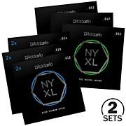 D'Addario NYXL1252 Jazz Light Electric Guitar Strings Custom 2-Pack (12-52)