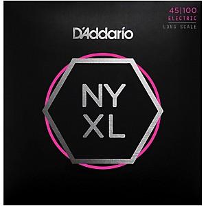 Daddario NYXL45100 Gauge NPS Long-Scale Bass Strings