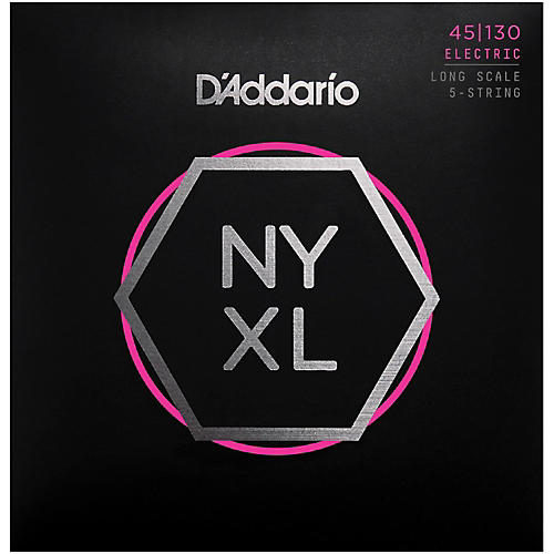 D'Addario NYXL45130 Gauge NPS Long-Scale Bass Strings ...