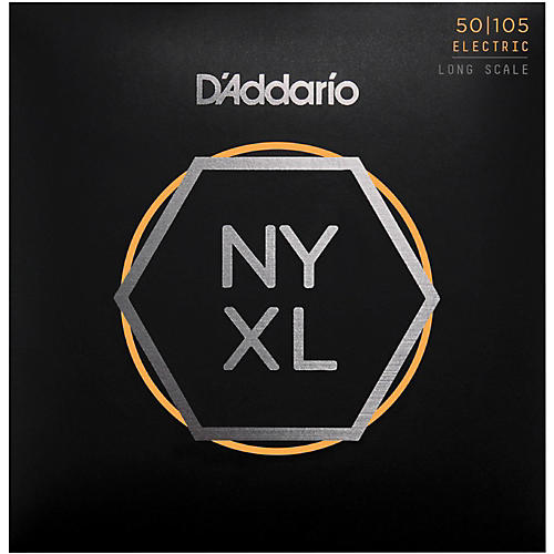 D'Addario NYXL50105 Gauge NPS Long-Scale Bass Strings