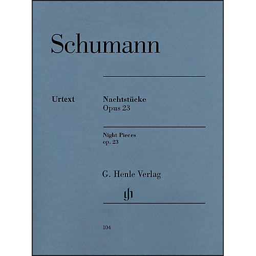 G. Henle Verlag Nachtst¼cke, Op. 23 (Night Pieces) By Schumann-thumbnail
