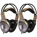 Nady QH560 Deluxe Studio Headphones Buy Two and Save (KIT-245604)