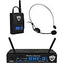 Nady UHF-3 Headset HM-3 Wireless System