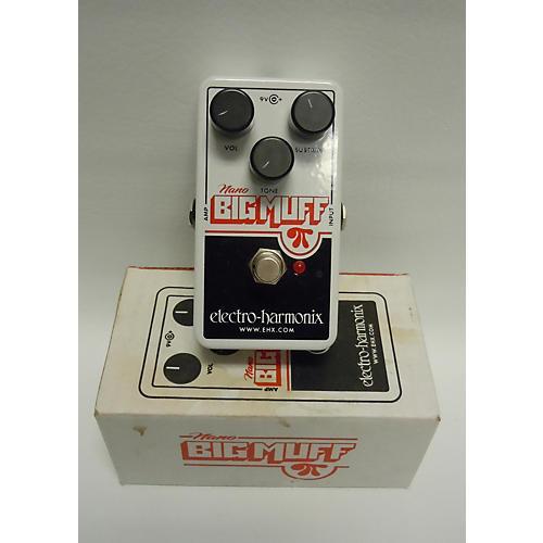 Electro-Harmonix Nano Big Muff Distortion Effect Pedal-thumbnail