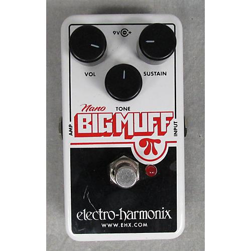 Electro-Harmonix Nano Big Muff Distortion White Effect Pedal