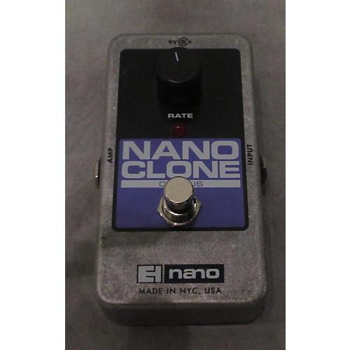 Electro-Harmonix Nano Clone Chorus Effect Pedal-thumbnail