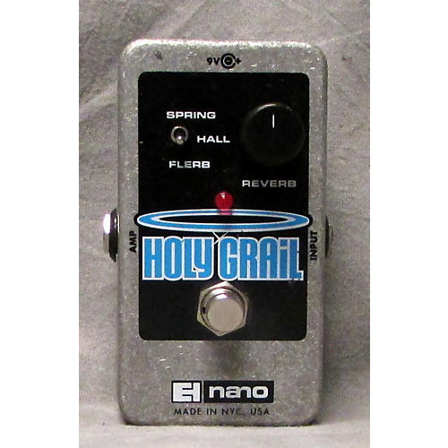 used electro harmonix nano holy grail reverb effect pedal guitar center. Black Bedroom Furniture Sets. Home Design Ideas