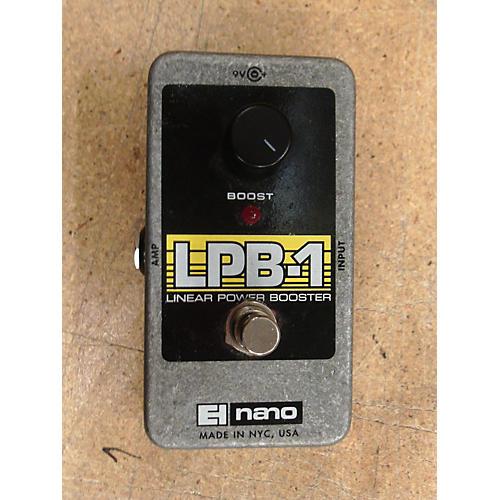 Electro-Harmonix Nano LPB1 Linear Power Booster Effect Pedal
