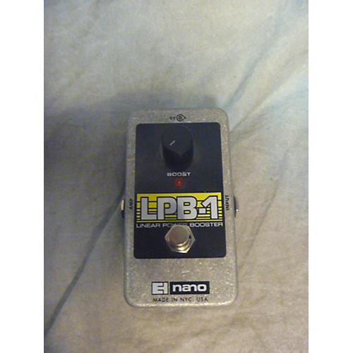 Electro-Harmonix Nano LPB1 Linear Power Booster Effect Pedal-thumbnail