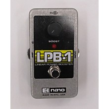 Electro-Harmonix Nano LPB1 Linear Power Booster Effect Pedal