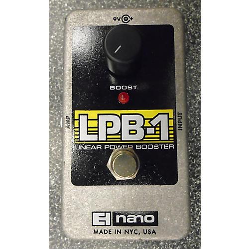 Electro-Harmonix Nano LPB1 Power Booster Effect Pedal