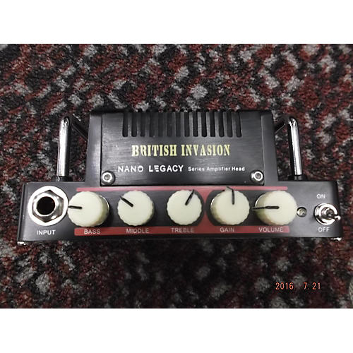 Hotone Effects Nano Legacy British Invasion Solid State Guitar Amp Head-thumbnail
