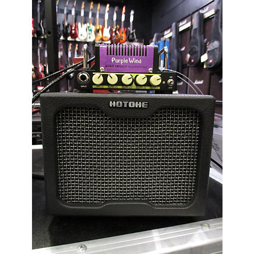 Hotone Effects Nano Legacy Purple Wind Solid State Guitar Amp Head