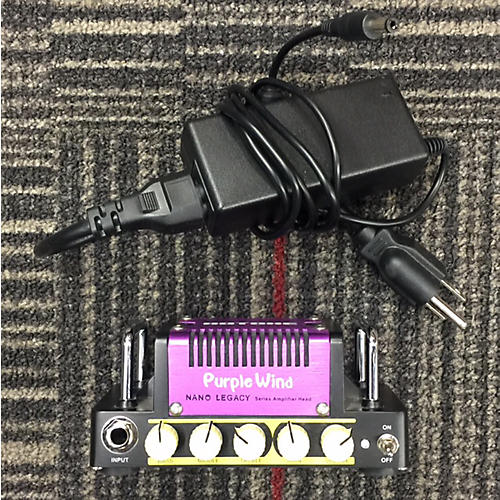 Hotone Effects Nano Legacy Purple Wind Solid State Guitar Amp Head-thumbnail