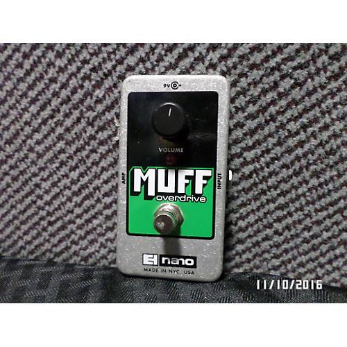Electro-Harmonix Nano Muff Overdrive Effect Pedal-thumbnail