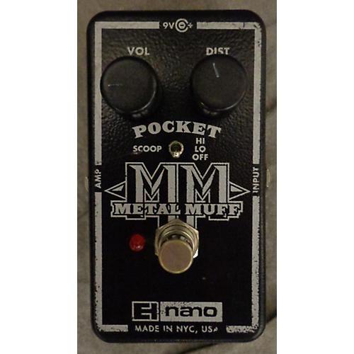 Electro-Harmonix Nano Pocket Metal Muff Distortion Effect Pedal-thumbnail