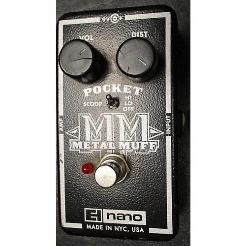 Electro-Harmonix Nano Pocket Metal Muff Distortion Effect Pedal
