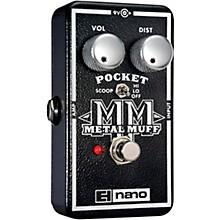 Electro-Harmonix Nano Pocket Metal Muff Distortion Guitar Effects Pedal