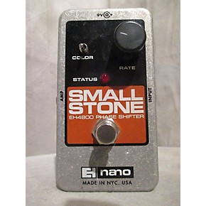 used electro harmonix nano small stone phase shifter effect pedal guitar center. Black Bedroom Furniture Sets. Home Design Ideas