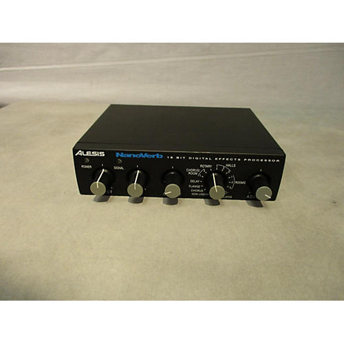 used alesis nanoverb effects processor guitar center. Black Bedroom Furniture Sets. Home Design Ideas