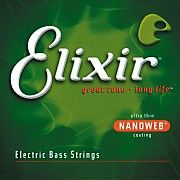Elixir Nanoweb Bass 5-String Soft Strings
