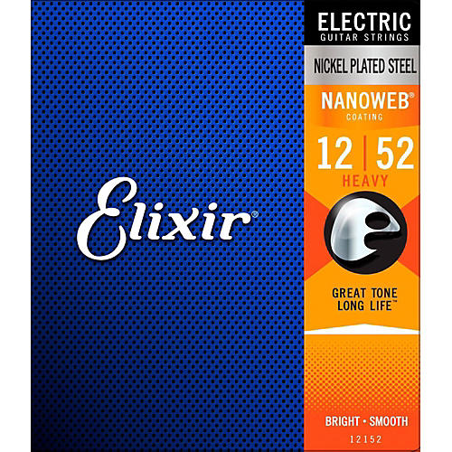 Elixir Nanoweb Heavy Electric Guitar Strings