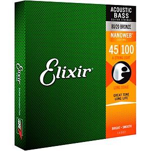Elixir Nanoweb Light Acoustic Bass Strings