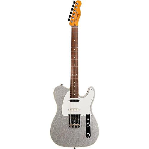 fender custom shop nashville american telecaster electric guitar silver sparkle rosewood. Black Bedroom Furniture Sets. Home Design Ideas