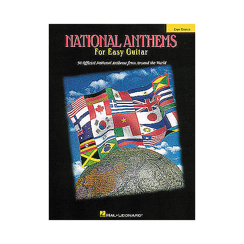 Hal Leonard National Anthems for Easy Guitar Tab Songbook