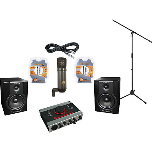 M-Audio Native Instruments Audio Kontrol 1 and M-Audio BX5a Recording Package-thumbnail