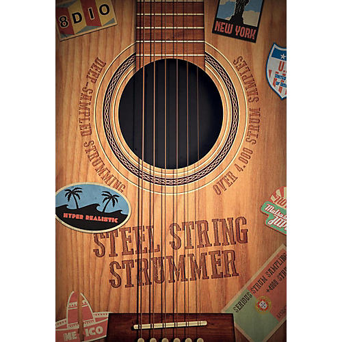 8DIO Productions Natural Acoustic Series: Steel Strummer-thumbnail