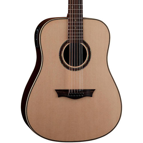 Dean Natural Series Dreadnought 12-String Acoustic-Electric Guitar with Aphex-thumbnail
