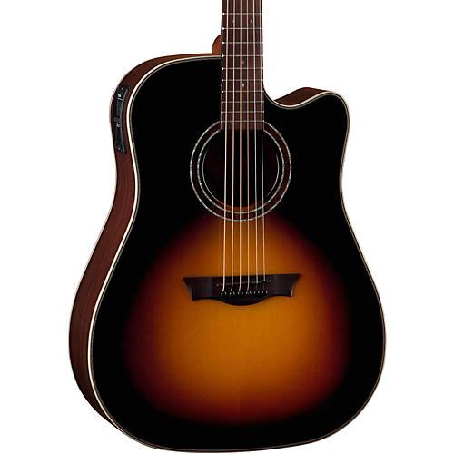 Dean Natural Series Dreadnought Cutaway Acoustic-Electric Guitar Tobacco Sunburst