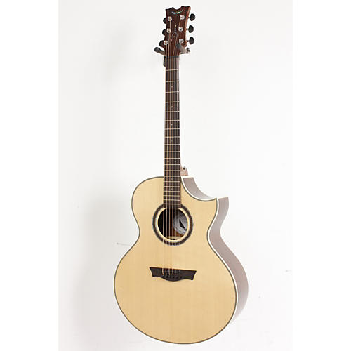 Dean Natural Series Florentine Cutaway Acoustic-Electric Guitar with Aphex