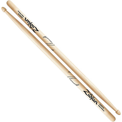 Zildjian Natural Super Hickory Drumsticks 5A Wood