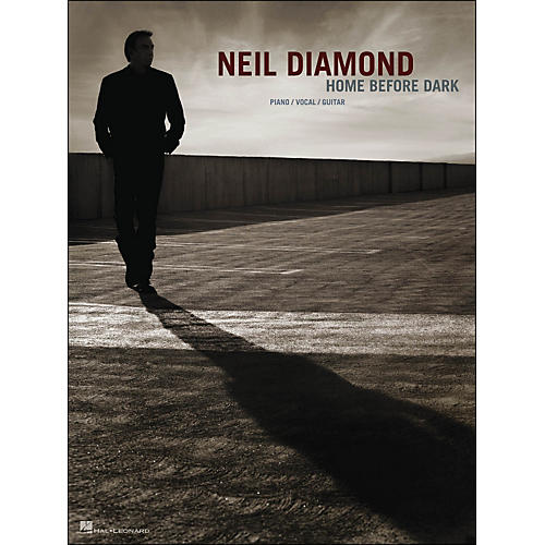 Hal Leonard Neil Diamond - Home Before Dark arranged for piano, vocal, and guitar (P/V/G)-thumbnail