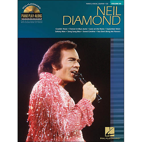 Hal Leonard Neil Diamond - Piano Play-Along Volume 88 (CD/Pkg) arranged for piano, vocal, and guitar (P/V/G)-thumbnail