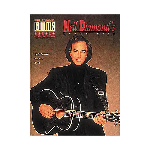 Hal Leonard Neil Diamond's Smash Hits Easy Guitar Book-thumbnail